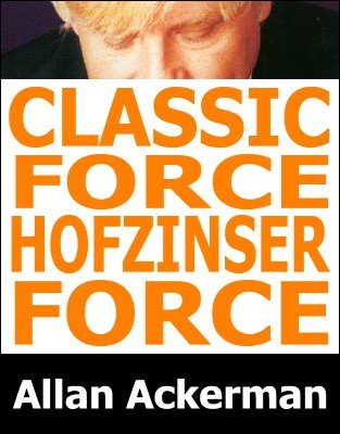 Allan Ackerman - Classic Force and Hofzinser Force
