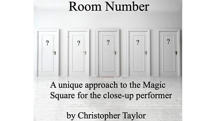 Christopher Taylor - Room Number