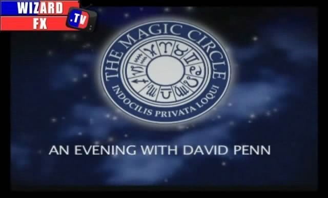 David Penn Magic Circle Lecture