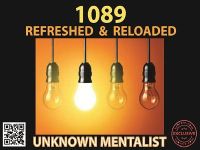 Unknown Mentalist - 1089 Refreshed and Reloaded