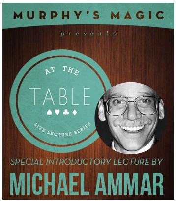 Michael Ammar - At the Table Live Lecture