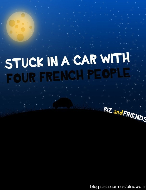 Bizau Vasile Cristian-Stuck In A Car With Four French People