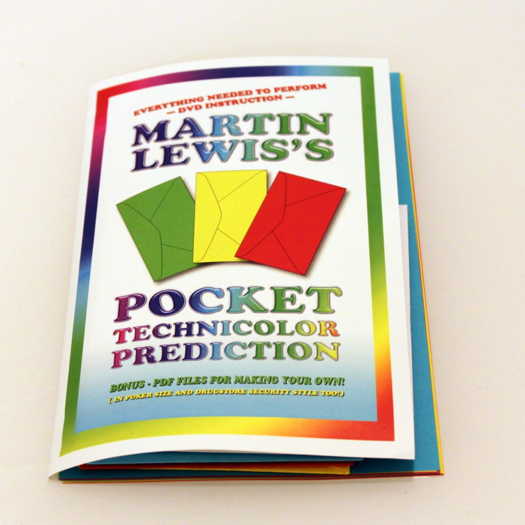Martin Lewis - Pocket Technicolor Prediction