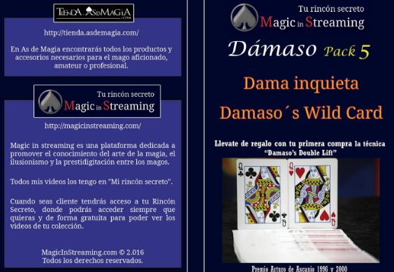 Damaso - Magic in Streaming Pack 5