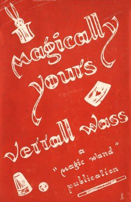 Verrall Wass - Magically Yours
