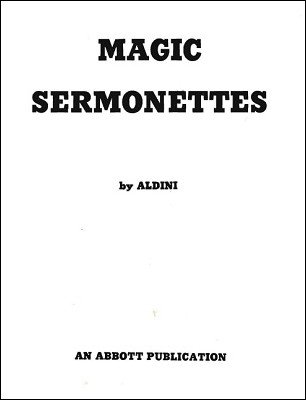Aldini - Magic Sermonettes