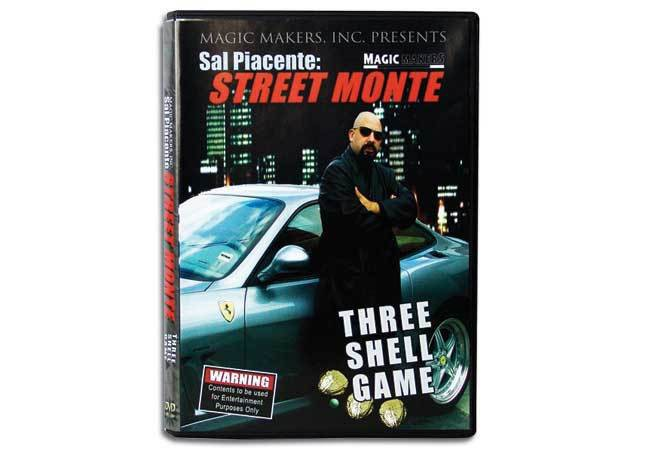 Sal Piacente: Street Monte - Three Shell Game