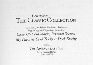 Harry Lorayne - Classic Collection Volume 1
