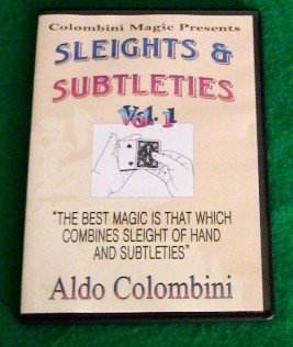 Aldo Colombini - SLEIGHTS AND SUBTLETIES (1-3)