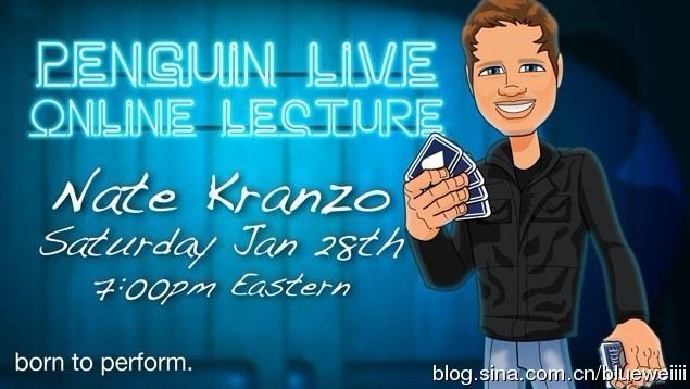 Nate Kranzo Penguin Live Online Lecture