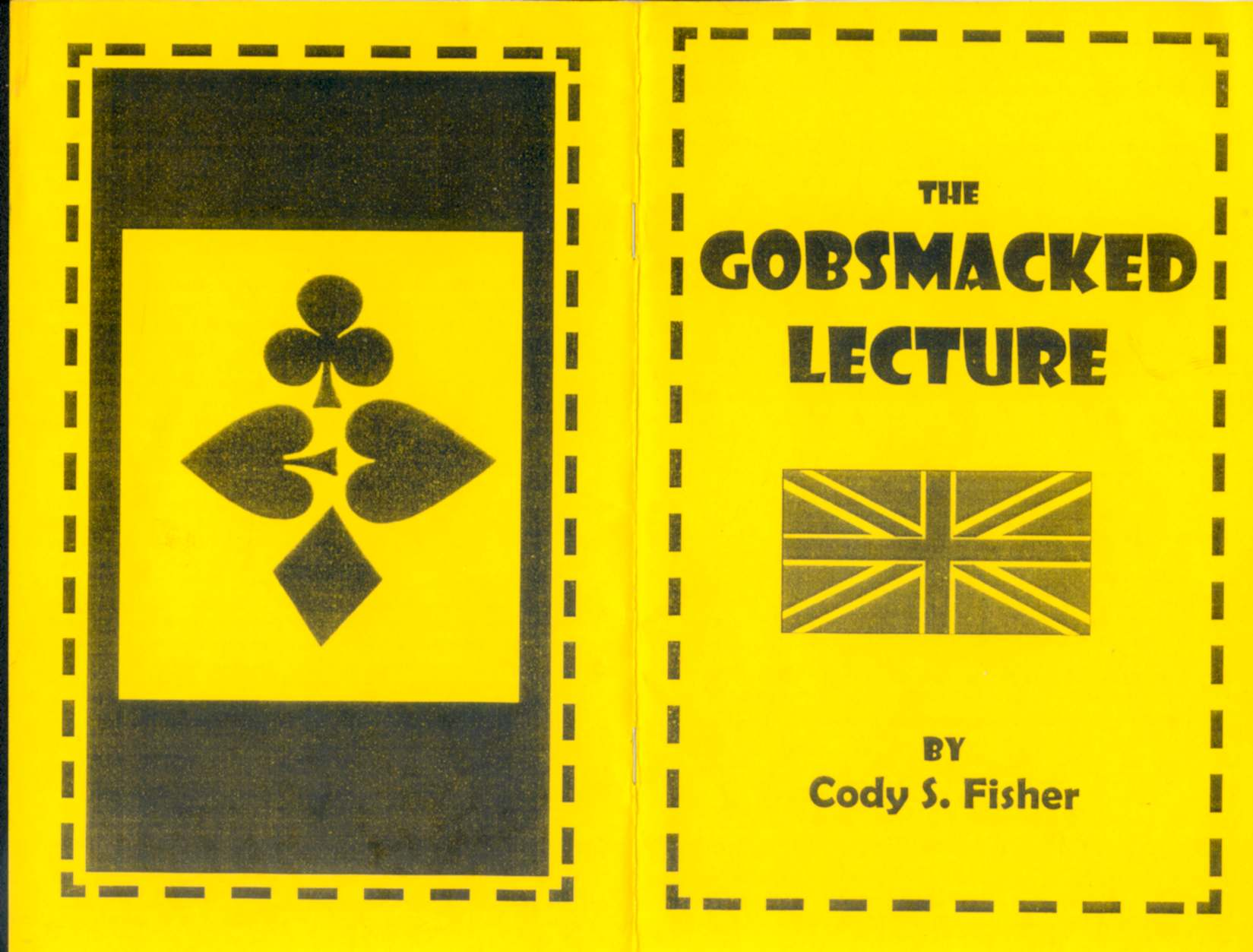 Cody S. Fisher - The Gobsmacked Lecture