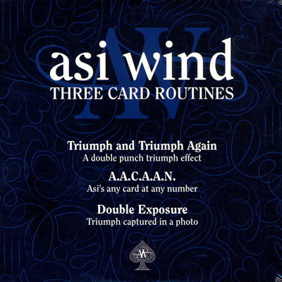 Asi Wind - Three Card Routines