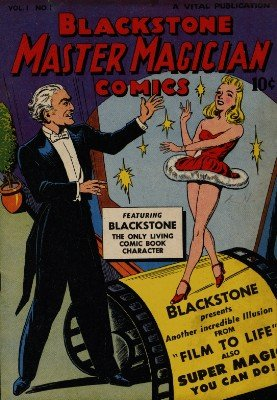 Walter Gibson - Blackstone Magic Comics