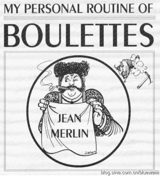 Jean Merlin - My Personal routine of Boulettes